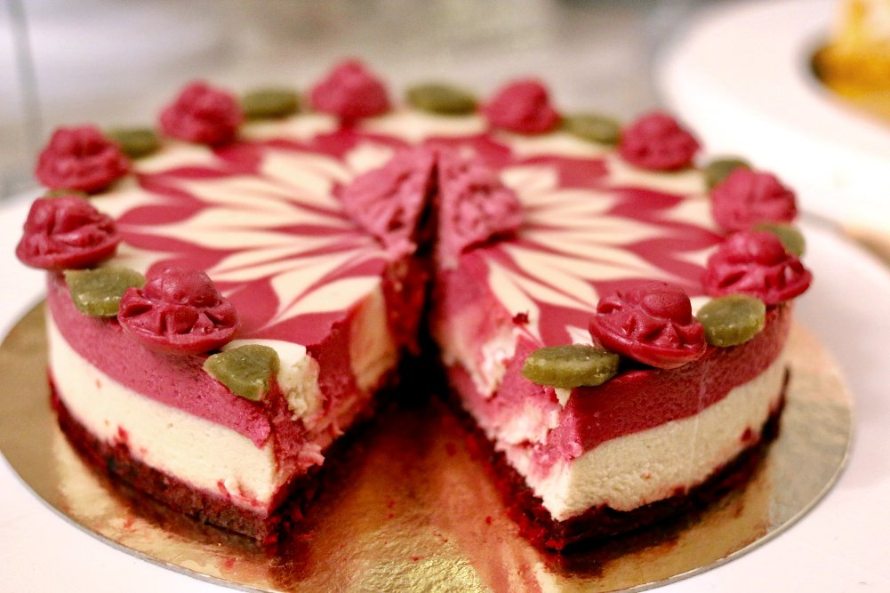 Bild Himbeertorte/Raspberry Cake