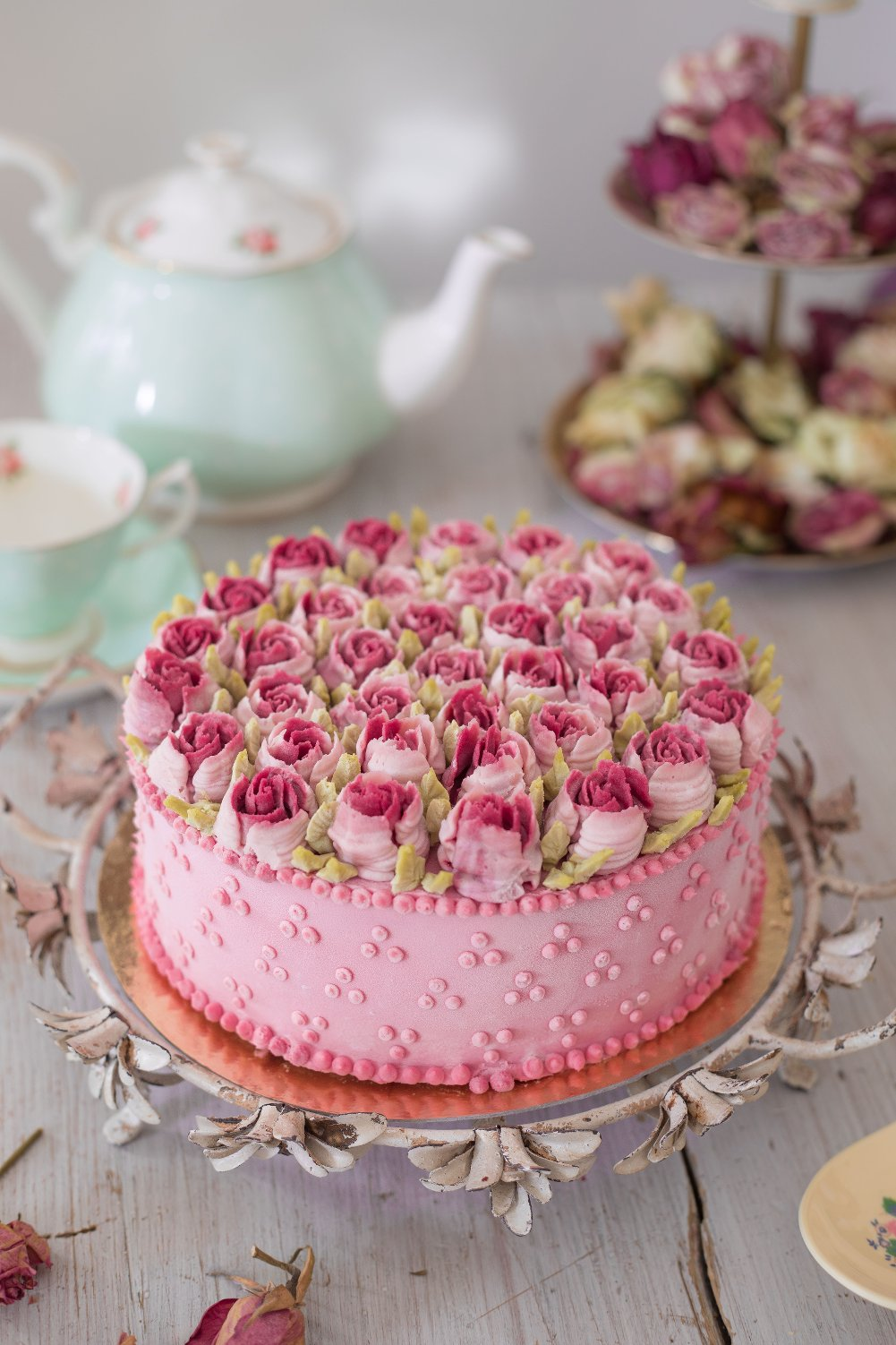Birthday Carrot Cake Decoration